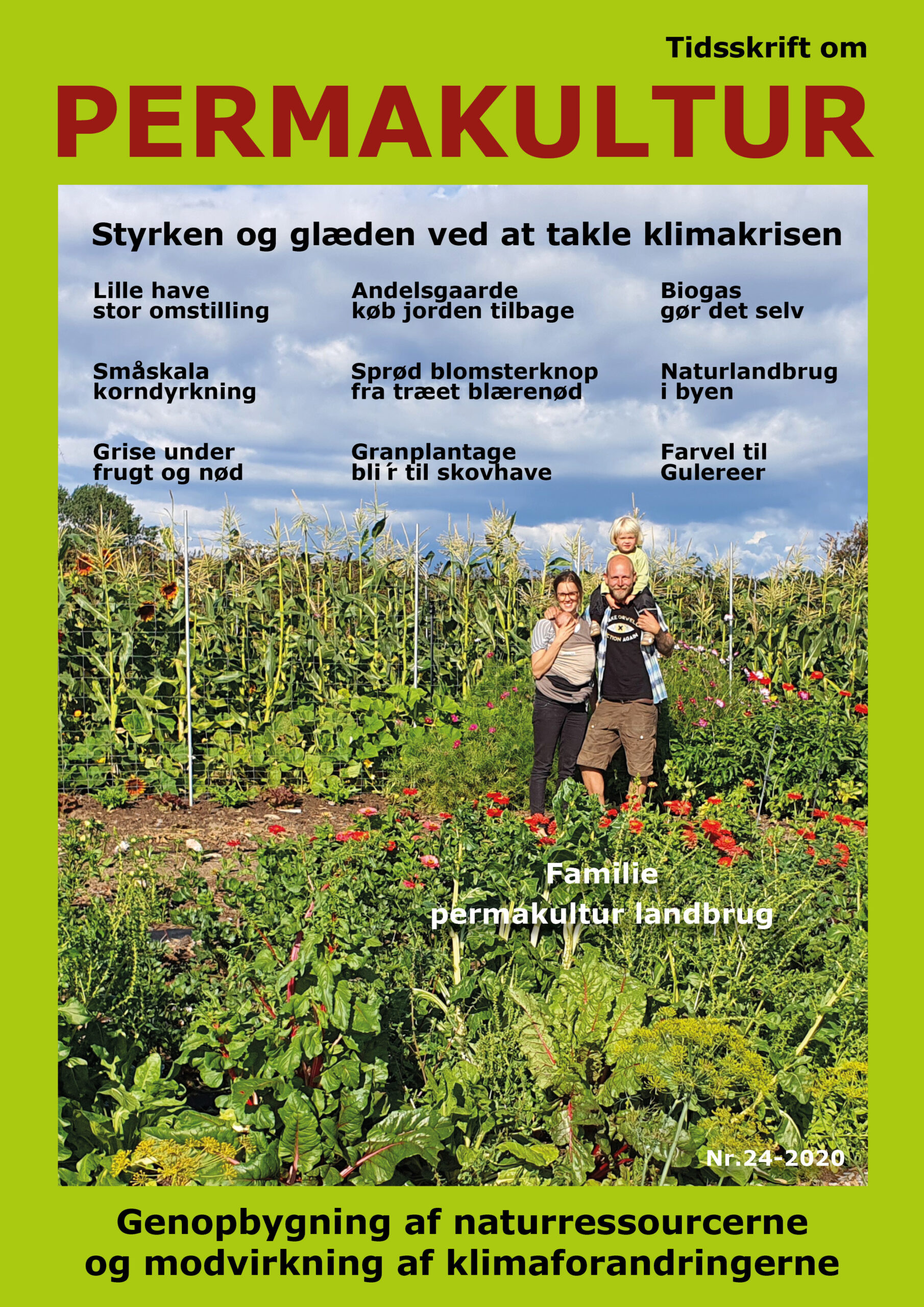 Modtag de 2 nyeste tidsskrifter med Permakultur Danmarks efterårstilbud