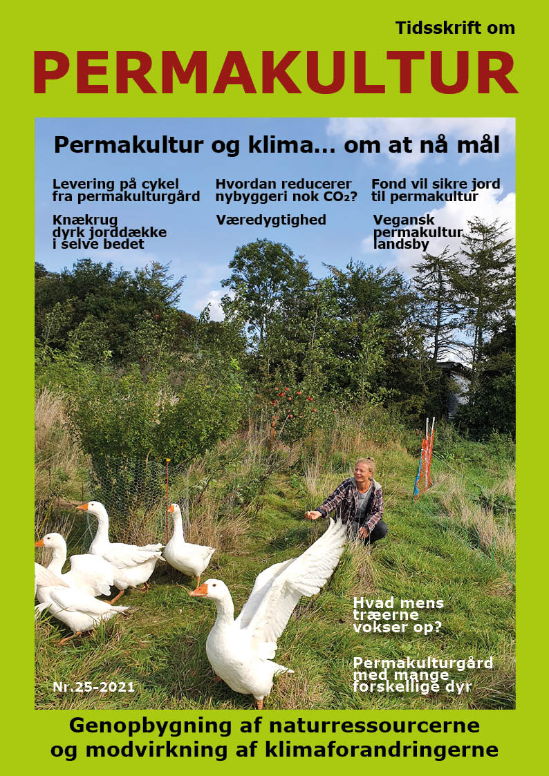 Netop udkommet – modtages som medlem af Permakultur Danmark